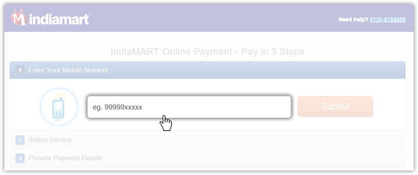 How to do an online payment